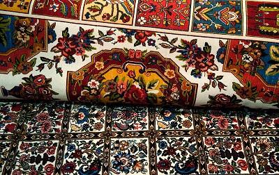 معنای نقوش ایجاد شده بر فرش دستباف