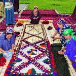 نمد ترکمنی چگونه تهیه می شود؟