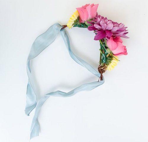 خلاقیت با گل های رنگی ( گل سر رنگارنگ) +تصاویر