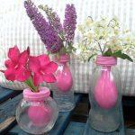 آموزش درست کردن گلدان زیبا با شیشه +تصاویر