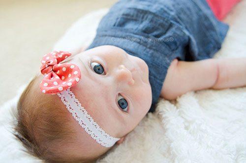 آموزش تل پارچه ای برای نوزاد +تصاویر