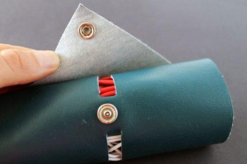 درست کردن کیف چرمی برای سیم ها+تصاویر