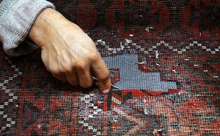 غربیله کاری برای چه فرش هایی انجام می شود؟