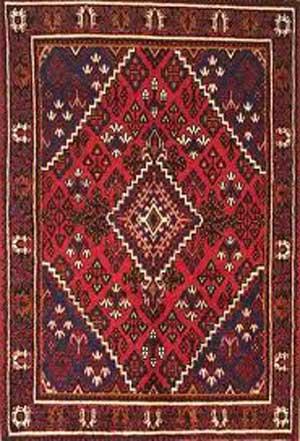 فرش بافی در غرب ایران