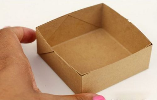 آموزش درست کردن جعبه با کاغذ +تصاویر