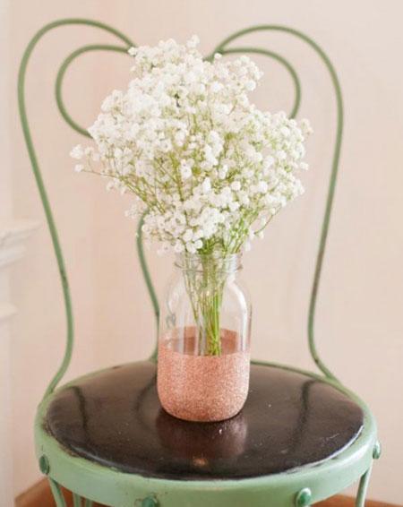 ساخت گلدان با شیشه های ساده | یک دکوری بی نظیر با وسایل ساده