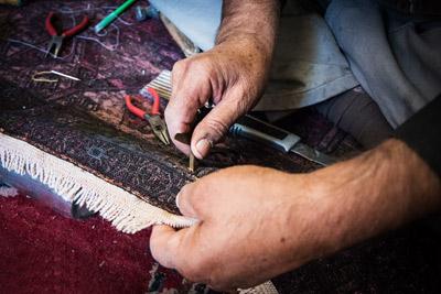 مرمت قالی چگونه انجام می شود؟