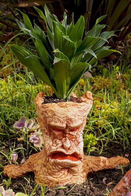آموزش درست کردن گلدان به شکل آدمک با خمیر +تصاویر