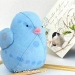 آموزش درست کردن پرنده زیبا با پارچه نمدی +تصاویر