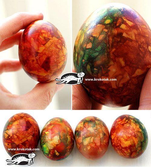 چگونه تخم مرغ رنگی درست کنیم ؟+تصاویر