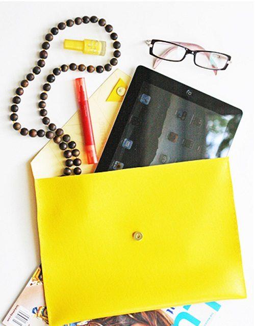 آموزش درست کردن کیف چرمی برای تبلت +تصاویر