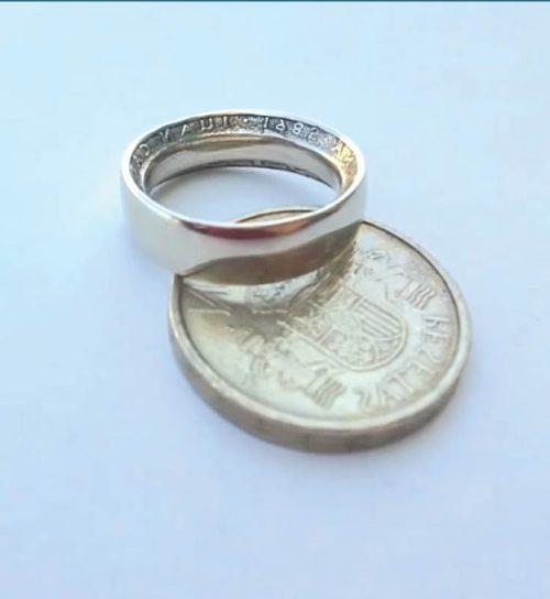 آموزش درست کردن حلقه با سکه های قدیمی