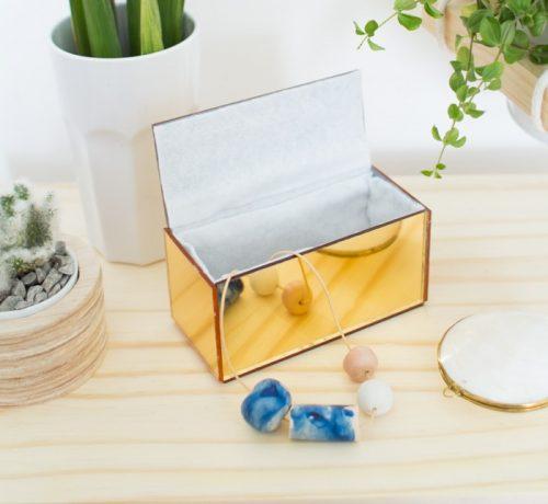 آموزش درست کردن جعبه جواهرات با آینه