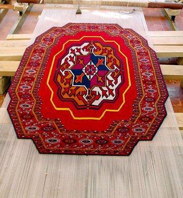 رنگ های فرش ترکمن