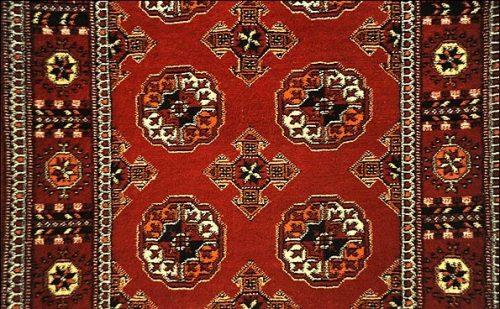 رنگ های استفاده شده در فرش ترکمن