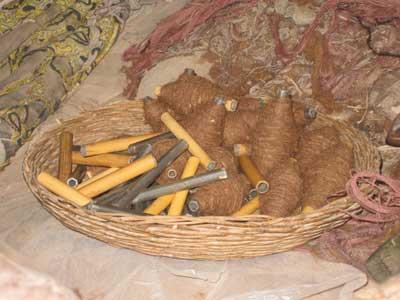 عبابافی صنایع دستی قدیمی رایج در شهرستان نائین