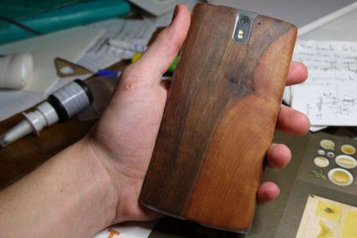 آموزش درست کردن قاب موبایل با چوب