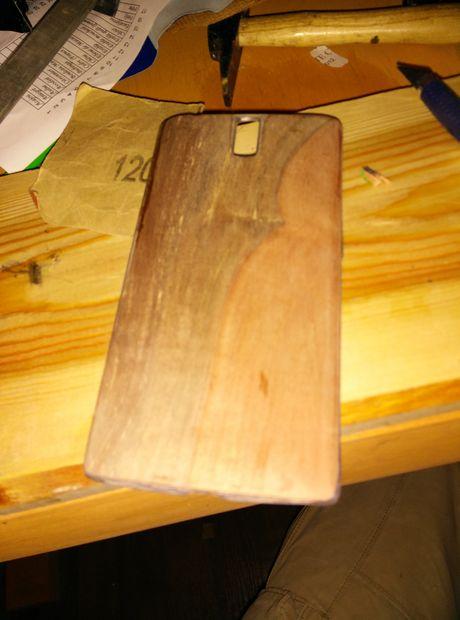 قاب موبایل چوبی
