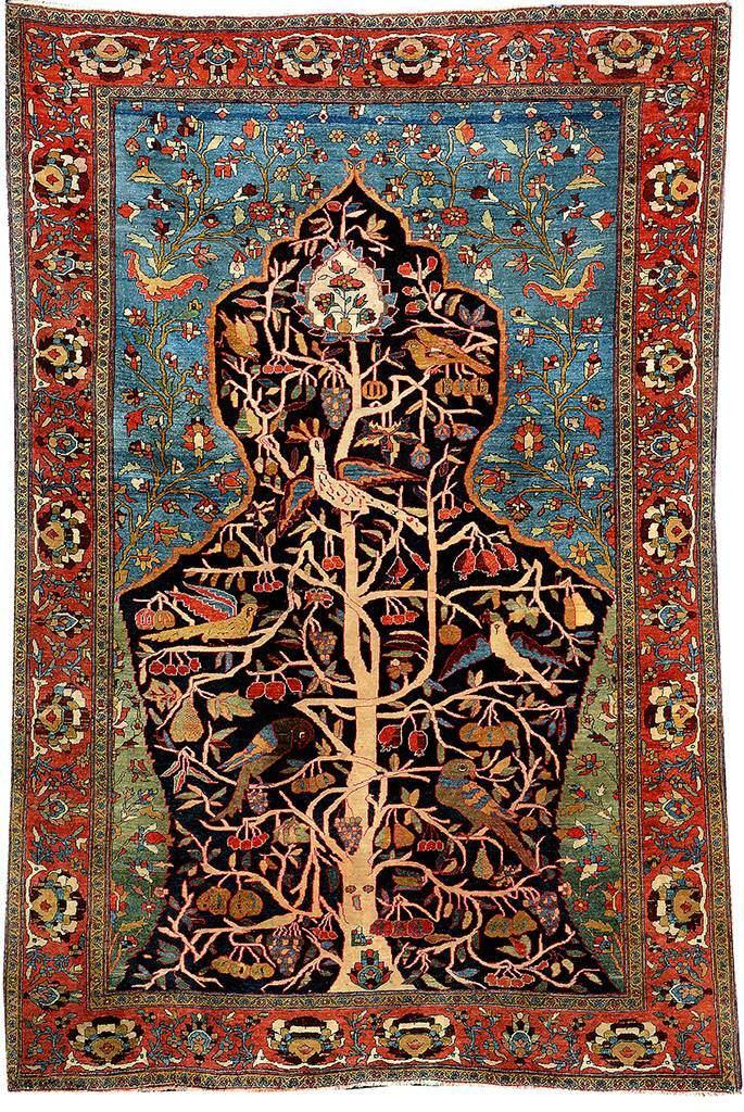 قالیچه درخت سرو