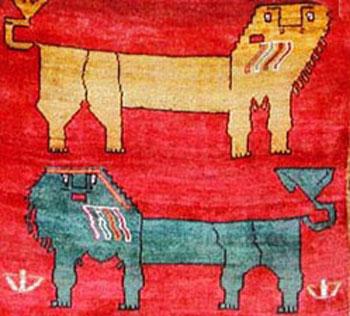 تاریخچه به وجود آمدن قالیچه های شیری
