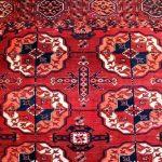 منشاء نقوش قالی ترکمن چیست؟