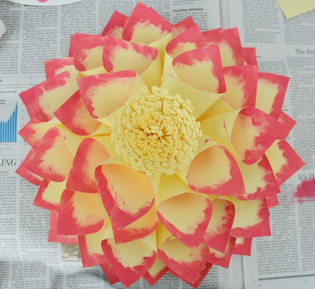 گل کاغذی خلاقانه