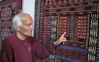 آشنایی با استاد نیاز محمد نیازی (پدر فرش ترکمن)