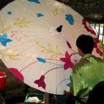 تاريخچه ساخت چترهای  تزئينی در تايلند