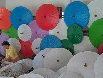 تاریخچه ساخت چتر در تایلند