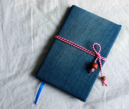 آموزش درست کردن دفترچه یادداشت با جلد پارچه ای