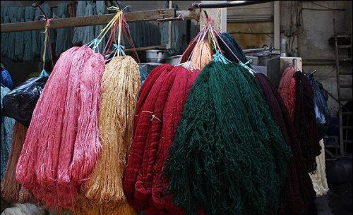 ابزار و مواد مورد نیاز در رنگرزی سنتی فرش
