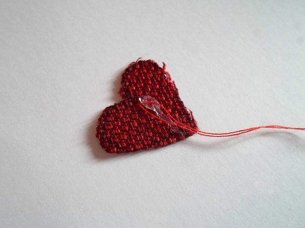 درست کردن تی بگ به شکل قلب