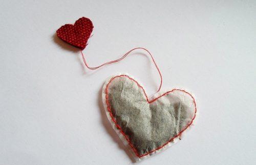 آموزش درست کردن تی بگ به شکل قلب