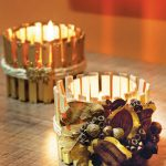 آموزش درست کردن شمعدان با وسایل دورریختنی