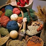 مزایای استفاده از رنگ گیاهی در رنگرزی فرش