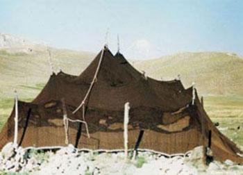 هنر غربال بافی , تخصص زنان چادرنشین