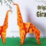 آموزش درست کردن اوریگامی زرافه +فیلم