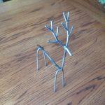 آموزش درست کردن مجسمه فلزی گوزن با میله های بدون استفاده