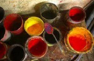 استفاده از رنگ های شیمیایی در رنگرزی فرش