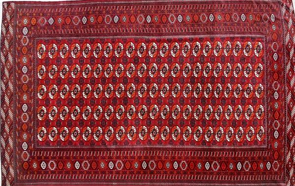رنگرزی در فرش ترکمن