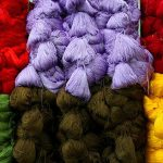 اهمیت رنگ و رنگرزی در فرش نائین