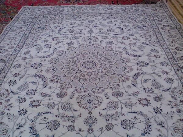 رنگرزی در فرش نائین
