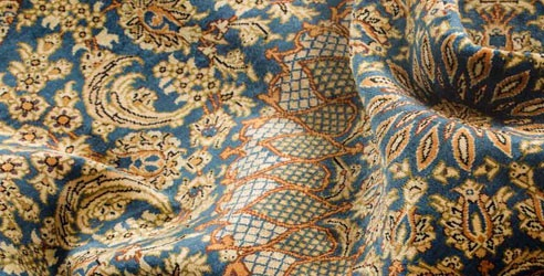 روش تشخیص ابریشم مصنوعی و طبیعی در فرش دستباف