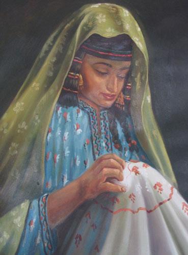 آشنایی با خامه دوزی , هنر سنتی مردم زابل