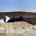 آشنایی با هنر سیاه چادر بافی , چادر بافته شده از موی بز