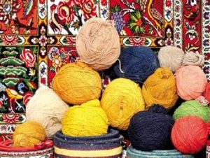 استفاده از گیاهان رنگدار در رنگرزی فرش