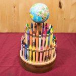 آموزش درست کردن جاقلمی چوبی مخصوص مداد شمعی