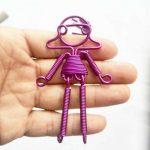 آموزش درست کردن عروسک سیمی ساده
