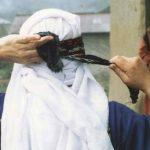 دستمال کلاغی صنایع دستی ایل شاهسون
