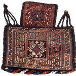 کولبارچه، دستبافتهای پشمین برای حمل آذوقههای عشایر